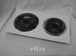 Use Jenn-air A100 Cae1000acx White Burner Cartridge Cooktop Range A109-c A100-c