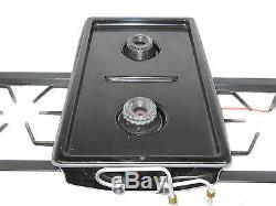 Used Jenn-air Dual Gas Burner Range Cartridge Came From Model Seg196-c