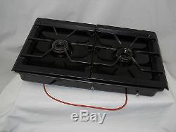 Used Jenn-air Left Side Dual Gas Burner Range Cartridge Came From Model Seg196-c