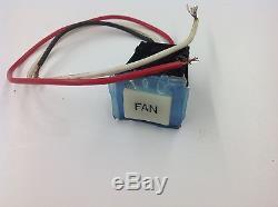 VINTAGE Jennair 12001418 Jenn-Air Range 707698 Push Fan Switch AP4009405 NEW