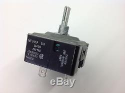 VINTAGE STOVE PARTS Jenn-Air Range 15400 Infinite Heat Burner Switch 700855 NEW