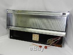 Vintage Jenn-air Oem Back Splash + Fluorescent Light For Downdraft Stove Range